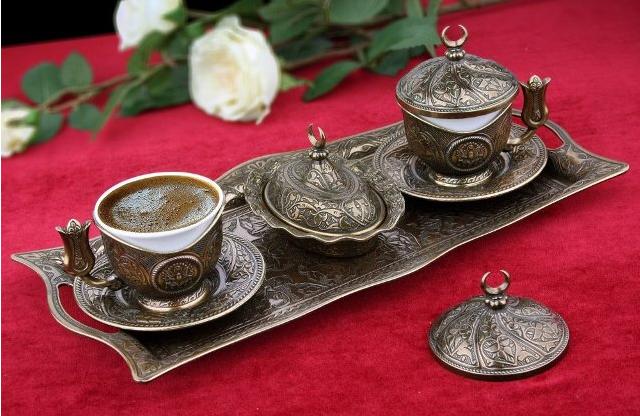 Набор чашек для кофе Античная медаль Sena на 2 персоны