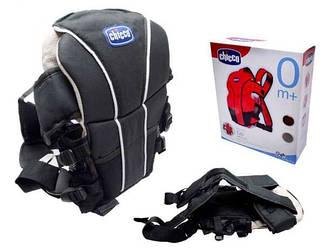Рюкзак-переноска Chicco BT-BC-0001 0-9 кг, 2 цвета в ассортименте: черный, красный