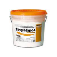 Singletypo Golden Brown супергипс, 6кг (4-й класс прочности)