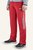 Классические красные штаны спортивные для мужчин и подростков
