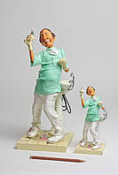 Колекційна статуетка Стоматолог Forchino, ручна робота