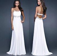 Платье в пол вечернее со стразами 532 (КЭТ)