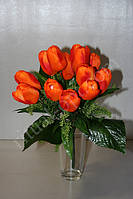 Искусственный букет из шелковых тюльпанов № 431