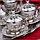 Набор чашек для кофе Серебрянная медаль на 6 персон, фото 4