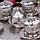 Набор чашек для кофе Серебрянная медаль на 6 персон, фото 6