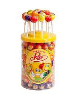 Рокс мультифрукт конфета на палочке 120 шт