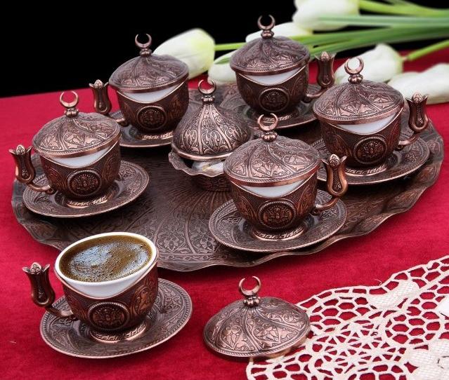 Набор чашек для кофе Бронзовая медаль на 6 персон