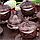 Набор чашек для кофе Бронзовая медаль на 6 персон, фото 5