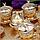 Набор чашек для кофе Золотая медаль на 6 персон, фото 5