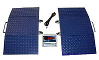Автомобильные весы поосевого взвешивания ВАПО-10, с нагрузкой на ось автомобиля до 10 тонн