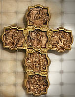 Крест из гипса