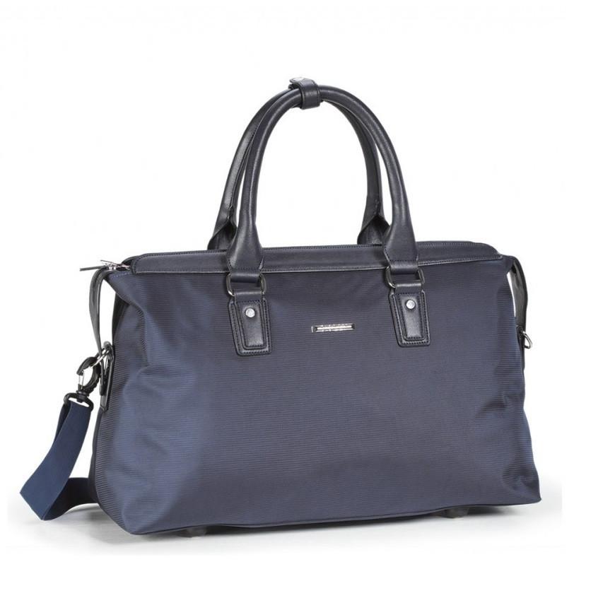 07daf54d03ea Дорожная сумка-саквояж Dolly 247 среднего размера синяя - купить по ...