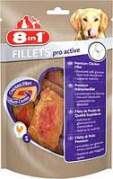 8in1 Fillets Pro Active Лакомство Здоровье связок и суставов