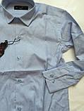 Рубашка в полоску для мальчиков 5- 16 лет, фото 2