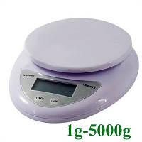 Кухонные весы электронные 5000 гр (точность 1 гр)