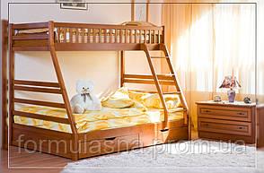 Кровать двухъярусная Юлия с подкроватными ящиками