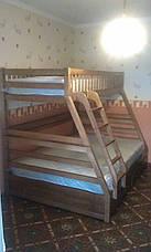Кровать двухъярусная Юлия с подкроватными ящиками, фото 2