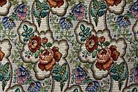 Гобелен тучи светлые, мебельная ткань Турция