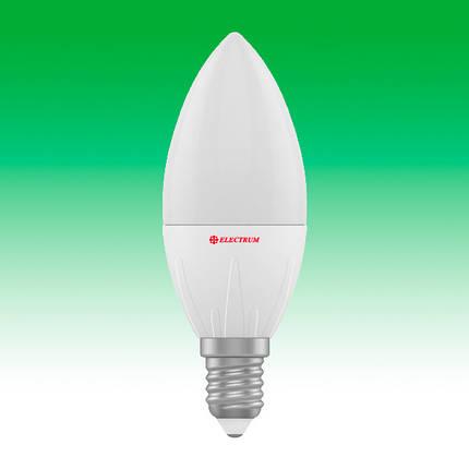 Светодиодная лампа LED 6W 4000K E14 ELECTRUM LC-9 (A-LC-1835), фото 2