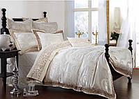 Комплект постельного белья  Bella Villa жаккард евро J-0002