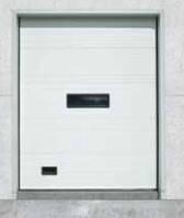 Промышленные секционные ворота для холодильных складов, камер