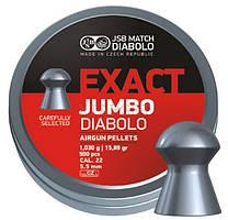 Пули JSB Jumbo Exact Diabolo 5.5, 1,03 гр. 500 шт.
