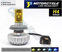 Супер автомобильные лампы LED H4 6000LM / 3000К / 4300К / 8000К