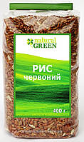 Рис красный цельнозерновой нешлифованный, Natural Green 400 грамм