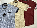 Рубашка с коротким рукавом,клетка для мальчиков 5-16 лет, фото 3