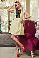44-50 размеры Светлое летнее женское платье сарафан Паола батал большого размера