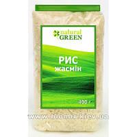 Рис жасмин, Natural Green 400 грамм