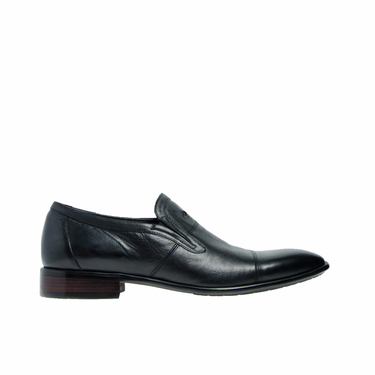 Туфли мужские классические весна осень натуральная кожа черные