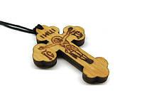 Крестик православный деревянный