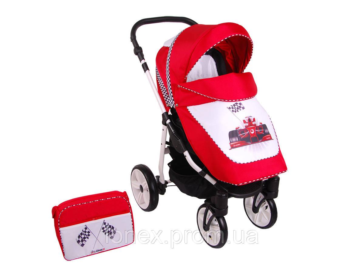 Прогулочная коляска Sport NEW Red