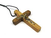 Крестик нательный из дерева