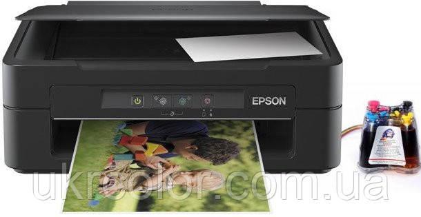 МФУ Epson Expression Home XP-100 ( формат А4 ) + СНПЧ + 4х100 мл сублимационные чернила InkTec