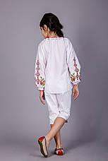 Вышитая блуза для девочки с уникальным орнаментом, фото 3