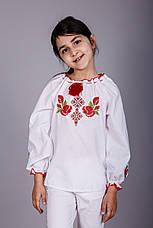 Вышитая блуза для девочки с уникальным орнаментом, фото 2