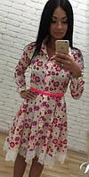 Нежное летнее платье Беби Долл (арт. 217434360)
