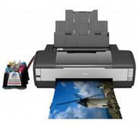 Принтер Epson Stylus 1410 + СНПЧ Resetters + 6х100 мл сублимационные чернила InkTec