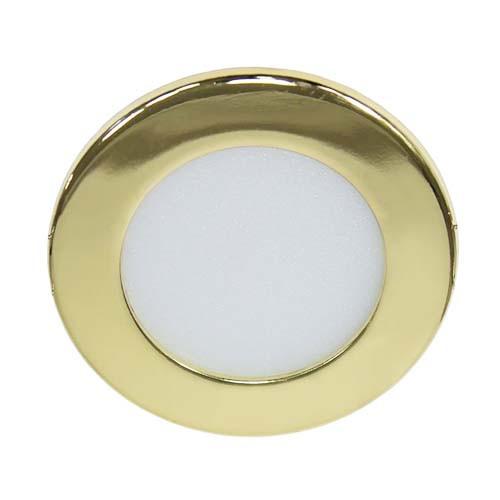 Светодиодный светильник, круг, 6W Золотой