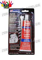 ABRO Red герметик высокотемпературный для двигателя