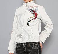 Куртка Ed Hardy размеры XS,S,M. Цвет-Чорный,Белый.
