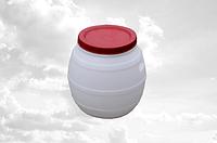 Бочка пищевая пластиковая 50 л (кадка) Консенсус KN-026