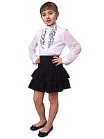 Блузка детская для девочек школьная М-979  рост 134-170