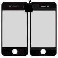 Защитное стекло корпуса для iPhone 4, черное, оригинал