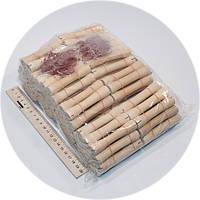 Бигуди деревянные с резинкой 200шт/уп диаметр 8 мм.