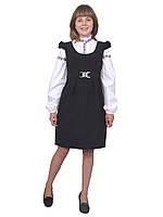 Сарафан школьный для девочки М-788  рост 134 140 146