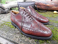 Мужские туфли броги Jones, made in England,  26 см, 41 размер. Код: 081.