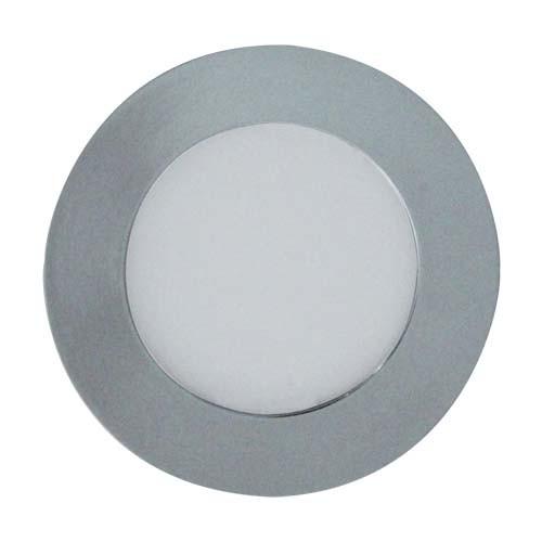 Светодиодный светильник, круг, 3W Золотой